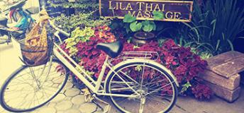 Bike around Chiang Mai and get a massage. Photo by Annie Bierbower