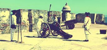 Spanish fort in San Juan, Puerto Rico
