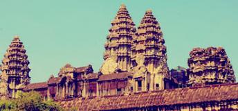a tourist spot in Siem Reap