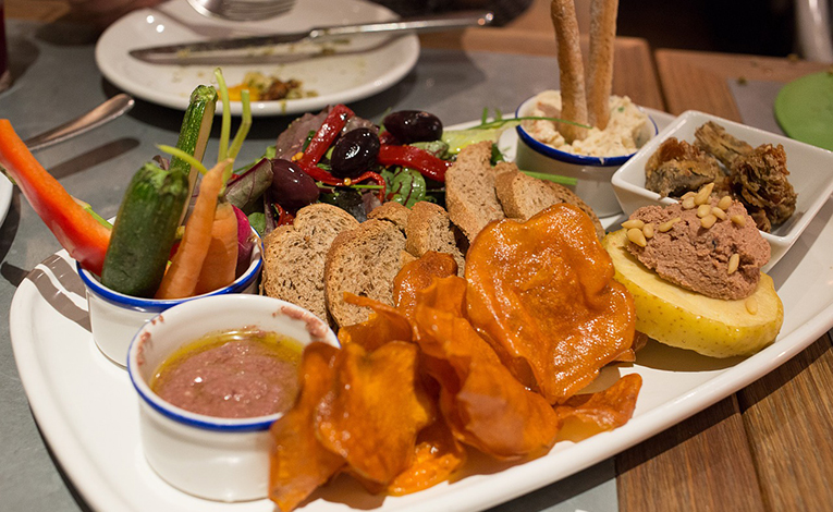 Plate of tapas